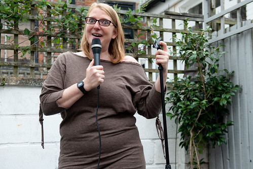 Robyn Perkins at Hastings Fringe Comedy Festival 2018