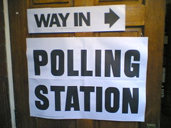 Polling Station by hugovk at Flickr