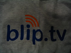 Oh yeah. I got a blip.tv shirt :) by ericskiff
