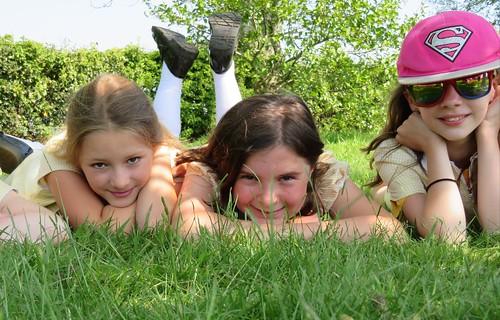 Churchill Girls Enjoying the Outdoors