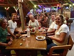 Abendessen im Funky Fish Bungalow