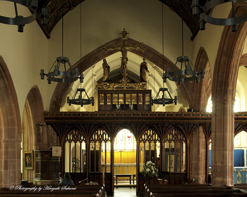 The Nave; St. Mary's Church, Bishops Lydeard, Somerset