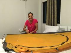 Unser Haus wird renoviert:-) Handarbeit ist angesagt!