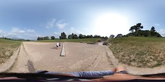 360-Degree View in Ancient Stadium of Olympia May 2018