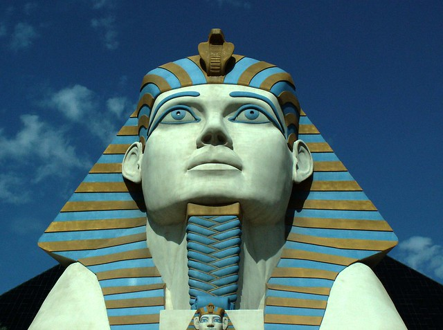 "Photo credit: ""Luxor Sphinx Portrait"" by cobalt123"