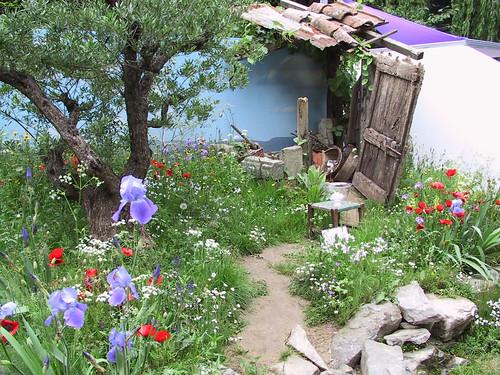 Mediterranean Garden by digiguy.