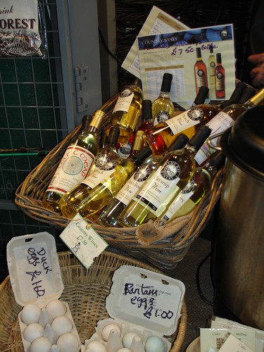 Country wine basket