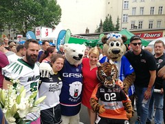 1. LSVD Sportempfang beim LS Stadtfest Frau. Giffey ©LSVD, © berlinbullets