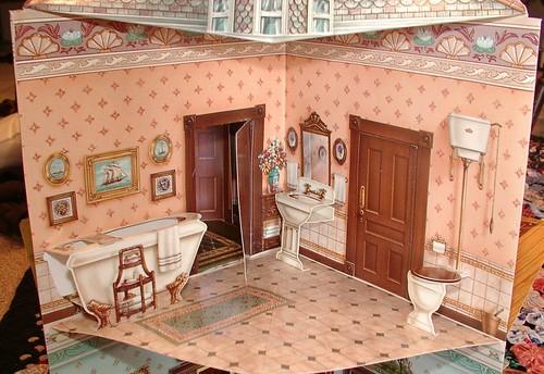 upstairs bath above kitchen