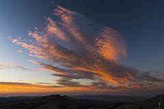 Drake Peak sunset