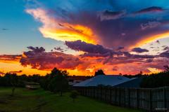 Sunset over Rangeville