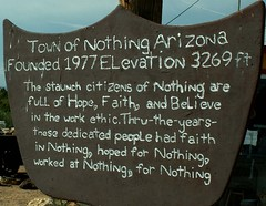 The Story of Nothing, in Arizona