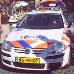 Holländischer Streifenwagen