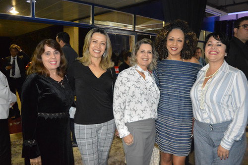 Dalizete, Meire Araújo, Carmelita Mendes, Vanuza e Patrícia Barbosa