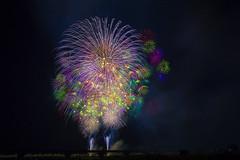 2018年8月3日日本新泻县长岡市花火大会 Nagaoka City Fireworks Festival (Niigata Prefecture, Japan), August 3, 2018