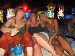 Gemma, Carly & Charlotte @ Koh Pha Ngan, Thailand