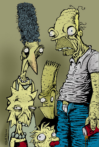 Tim Burton prepara un episodio de los Simpson... sera verdad????