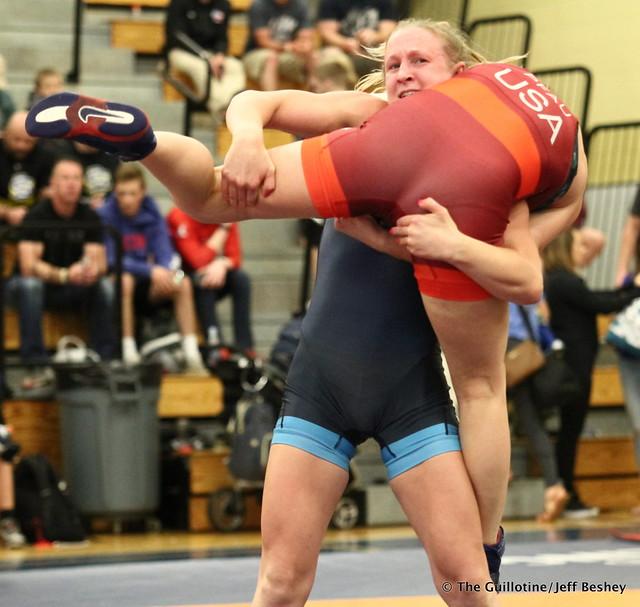 53 kg: Haley Augello (New York AC) def. Cody Pfau (Titan Mercury). 180519BJF0124