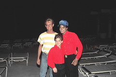 Alan Light with Michael Jackson (photo #1 - Michael's eyes closed)