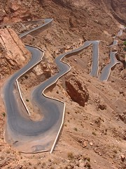 Hairpin Bends, Morocco