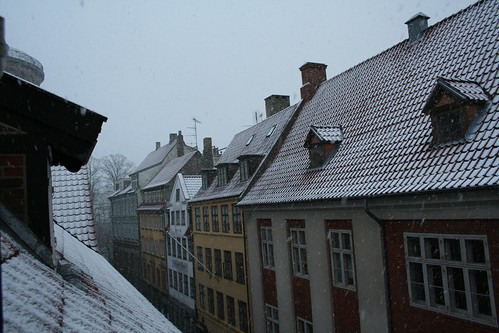 Snow in Copenhagen