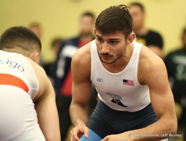 61 kg/134 lbs.- Austin Gomez- (Cyclone RTC) vs. Vitali Arujau (New York AC). 180519BJF0007