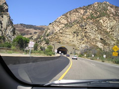 Tunnel on Highway 101