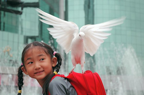 """""""I am happy to carrying the peace"""""""