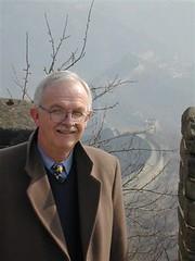 Dad at the Great Wall