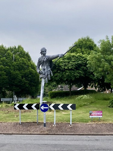 """Our Aethel"", Tamworth's new statue of Æthelflæd, Lady of Mercia"
