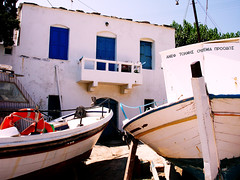 Ikaria 277 (isl_gr (away on an odyssey)) Tags: architecture boat ikaria icaria  aegean replacement fishingboat gialiskari