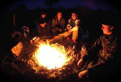 campfire crowd