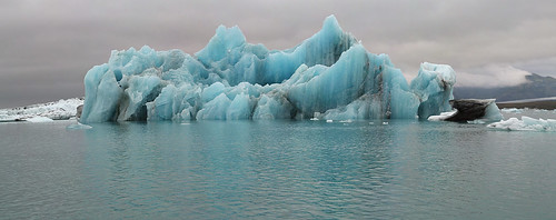 Blue Icelandic Iceberg
