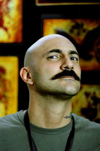 davide andreoli - tattoo master Italian Rooster