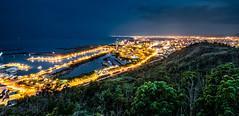 頭城蟾蜍山觀景台 - 夜景