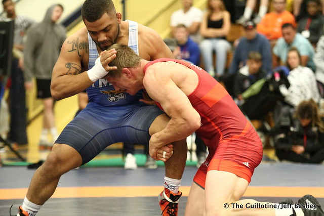 92kg: Hayden Zillmer (Minnesota Storm) vs Deron Winn (Titan Mercury). 180520AJF0207