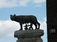 Lupa feeding Romulus and Remus