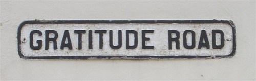 Gratitude Road by bartmaguire.