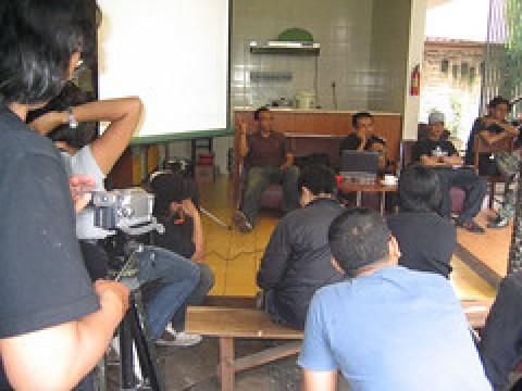 Rumah Cemara Media Gathering at Common Room.