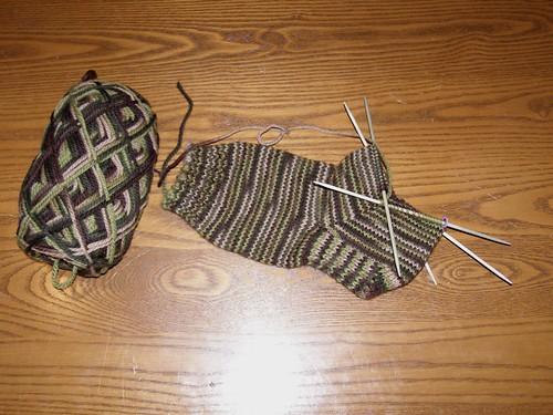 Andrew's sock