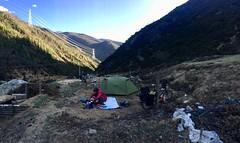 Camp auf 3800 müM.