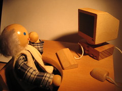 Grandad wonders whether the old computer will run Vista