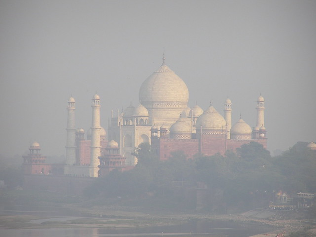 Taj in the Mist