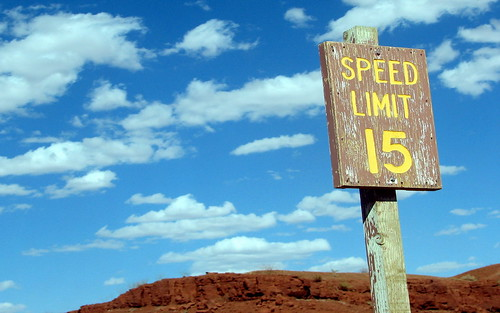 15 Speed Limit Sign