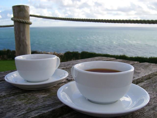 Tea in England.