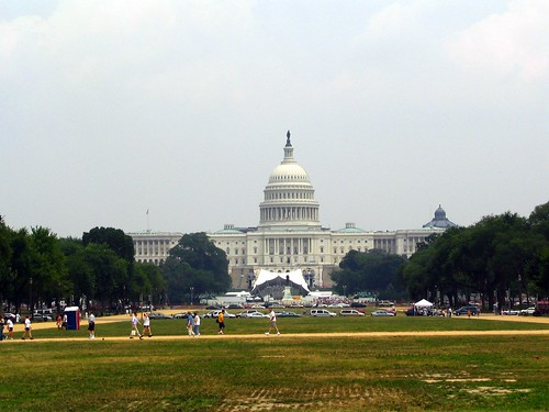 U.S. Capitol as seen from the Mall