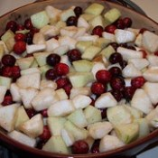 Cran apple crisp pre baked