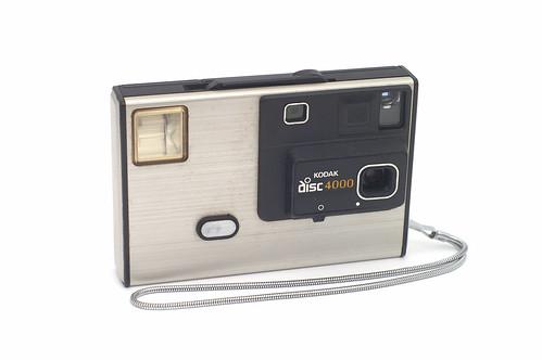 Kodak 4000 Disc Camera by Capt. Kodak