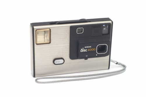 Kodak 4000 Disc Camera by Capt. Kodak