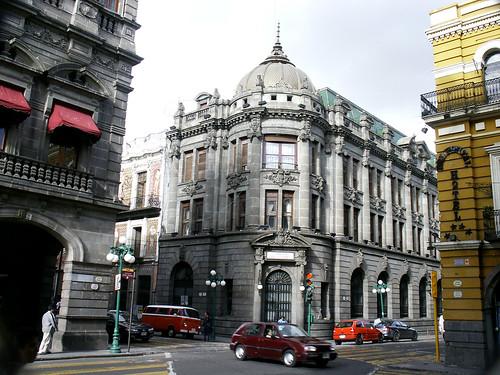 Government Building In Puebla